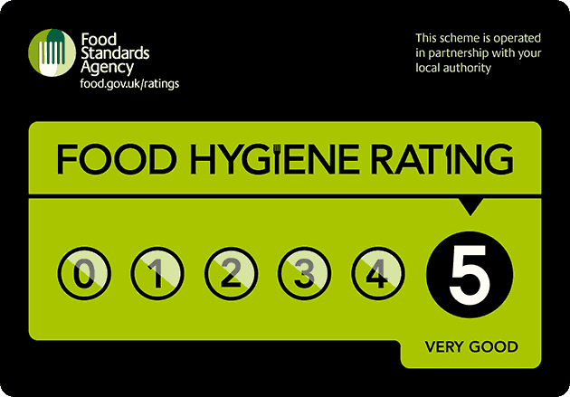 Nursery Food Hygiene Rating 5