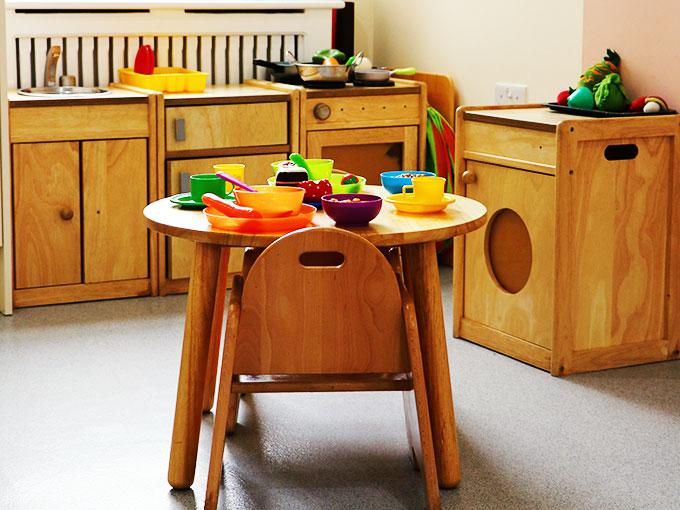 Nursery Wooden Toys Kitchen Set