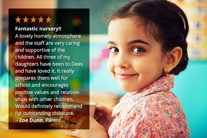 Excellent Nursery Review by Parents